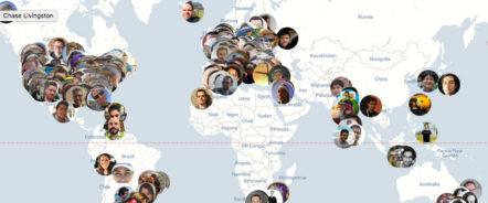 קהילת המפתחים של וורדפרס פרוסה בכל העולם (צילום מסך: אתר אוטומטיק)